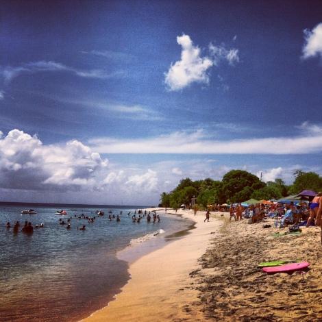 Rainbow Beach.